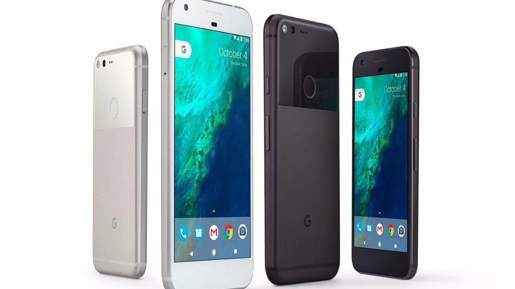 "Google Pixel phone in its different colour avatar. (Photo Courtesy: Twitter/<a href=""https://twitter.com/GoogleIndia/status/783356630196858880"">Google</a>)"