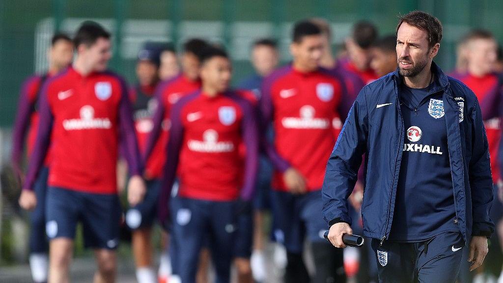 File photo of England's interim manager Gareth Southgate. (Photo: AP)