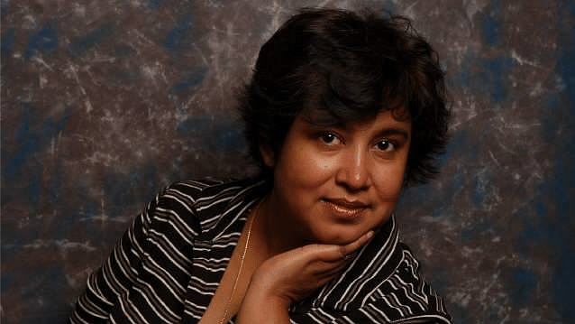 """Taslima Nasrin took to Twitter to comment on the Board's decision and accused it of misogyny. (Photo Courtesy: Facebook/<a href=""""https://www.facebook.com/photo.php?fbid=845061832304943&amp;set=picfp.100004034030498.816335628510897&amp;type=3&amp;theater"""">TaslimaNasreen</a>)"""