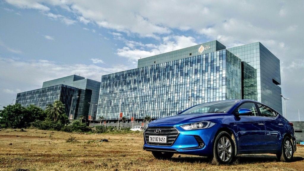 "Hyundai Elantra 2016 is here. (Photo Courtesy: <a href=""https://www.motorscribes.com/reviews/hyundai-elantra-2016-first-drive-petrol-diesel-automatic-review"">Motorscribes</a>)"