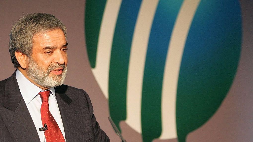 File photo of former ICC President Ehsan Mani.