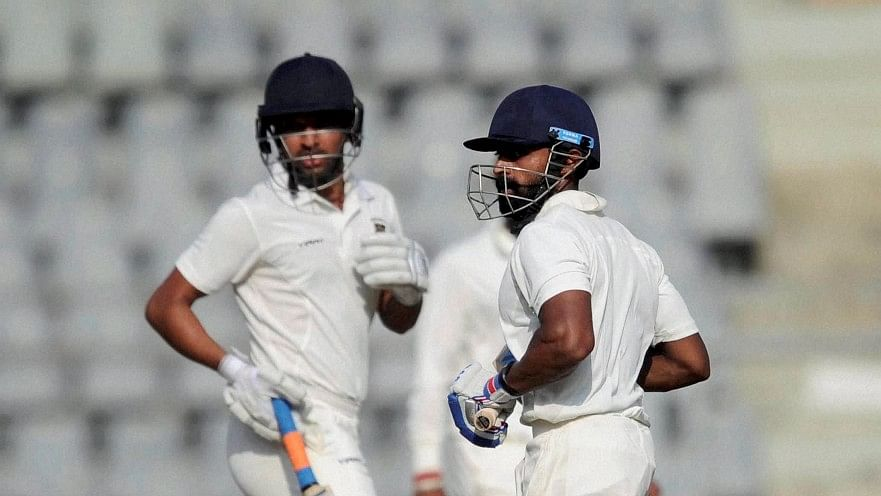 Swapnil Gugale and Ankit Bawne broke a 70-year-old record . (Photo: PTI)