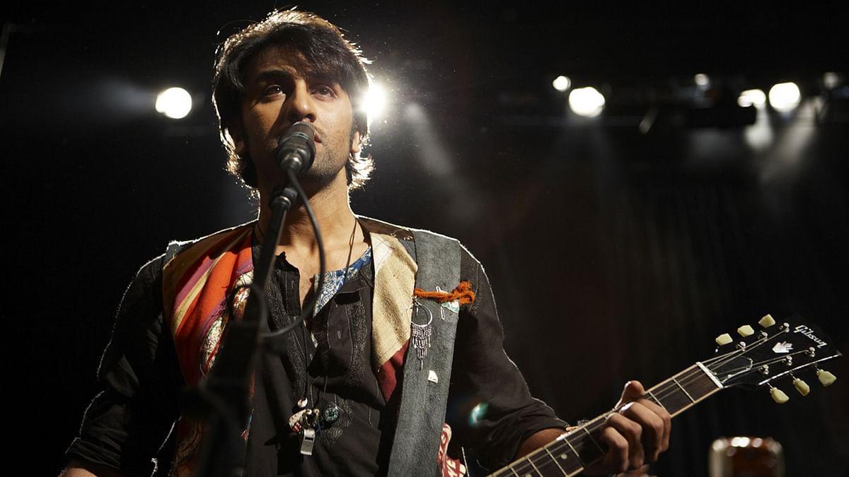 Ranbir Kapoor sings the blues in <i>Rockstar.</i>