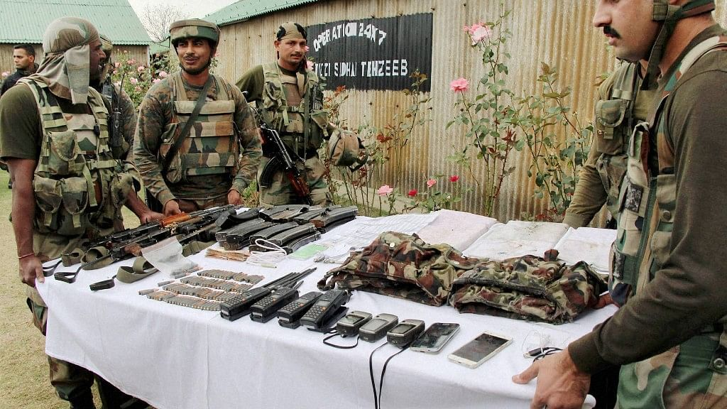 Huge Cache of Arms Seized in Kathua, Terror Attack Averted: Army