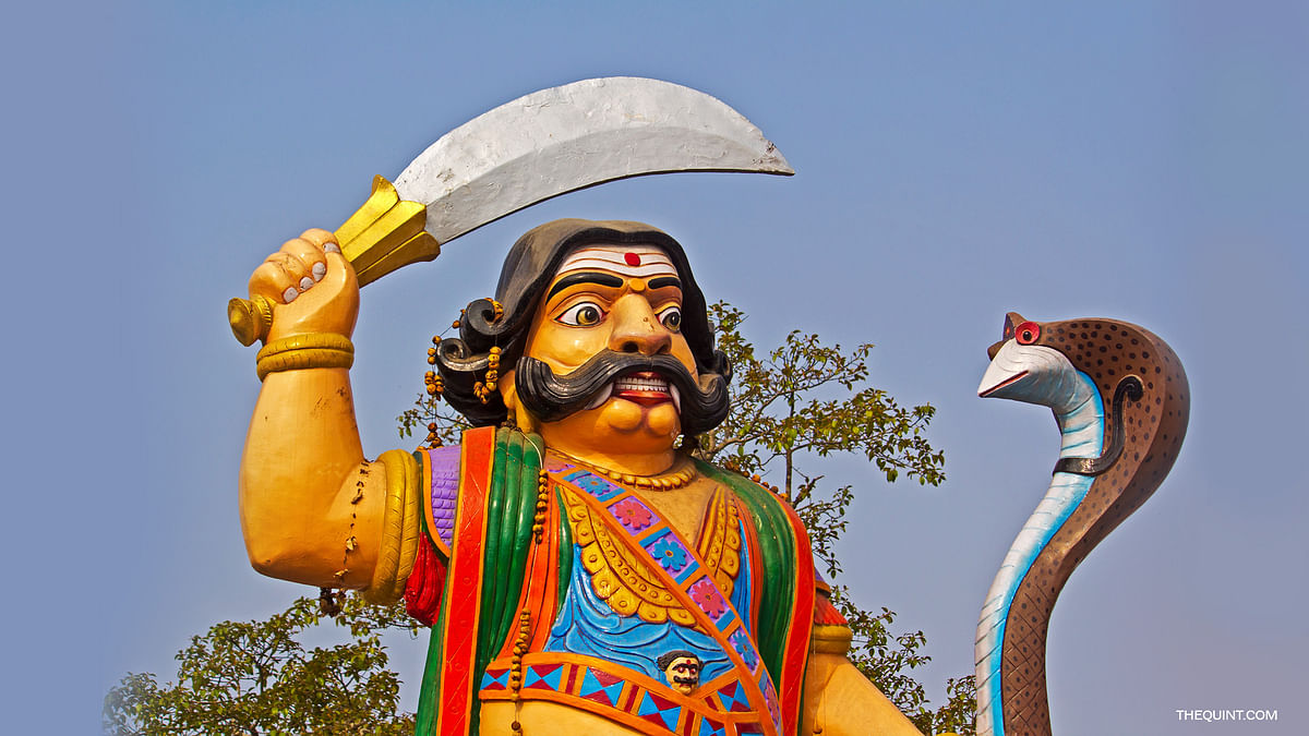 Ravana is worshipped in a lot of southern Indian states. (Photo: iStockphoto, altered by The Quint)