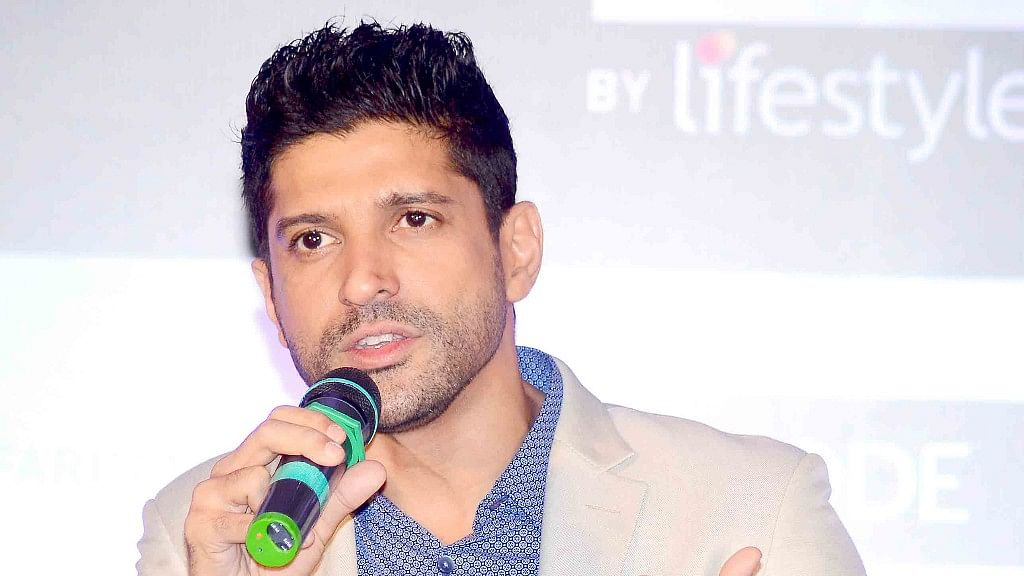 Farhan Akhtar has hit out against the deal between MNS and Bollywood producers. (Photo: Yogen Shah)