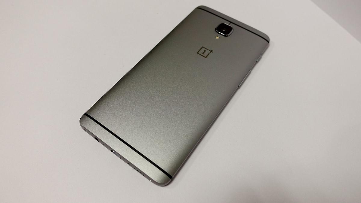 OnePlus 3. (Photo: <b>The Quint</b>/@2shar)