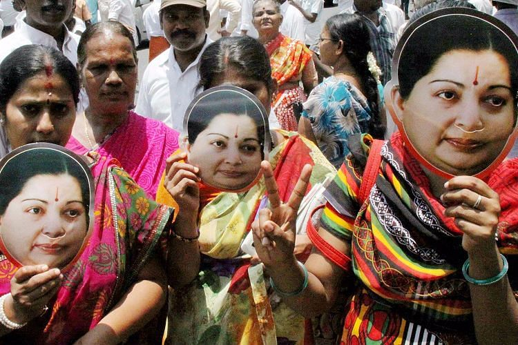 Sargunam's case comes less than a week after another party worker reportedly ended his life over Jaya's health. (Photo Courtesy: The News Minute)