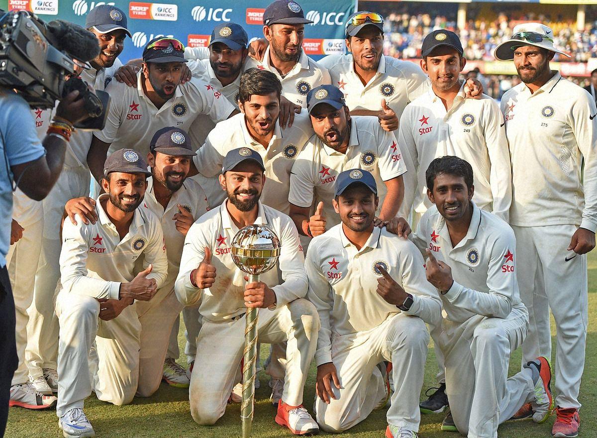 Under Virat Kohli, the Indian team won the Test series against New Zealand 3-0 this week. (Photo: PTI)