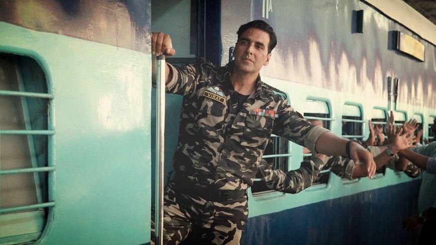 Akshay Kumar in a scene from <i>Holiday. </i>