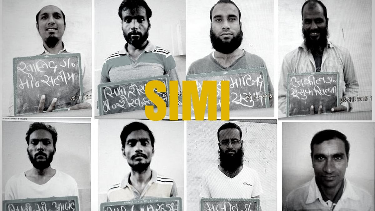 The 8 SIMI members who escaped from prison.
