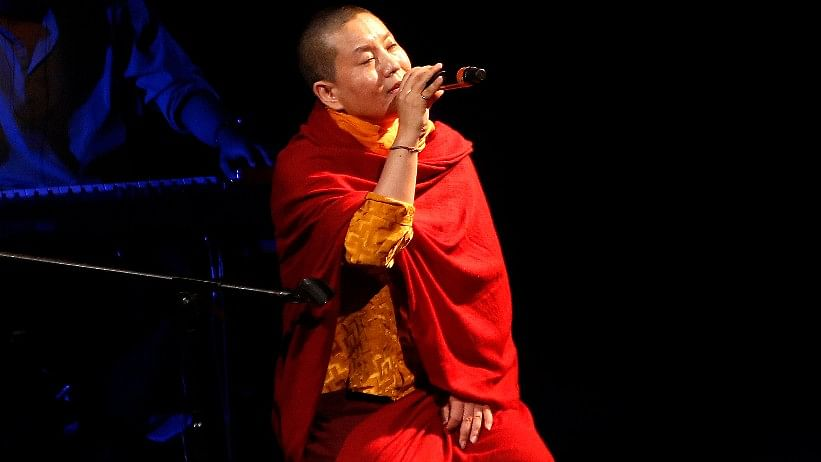 Ani Choying Drolma is famous as one of the country's biggest pop stars. (Photo: AP)