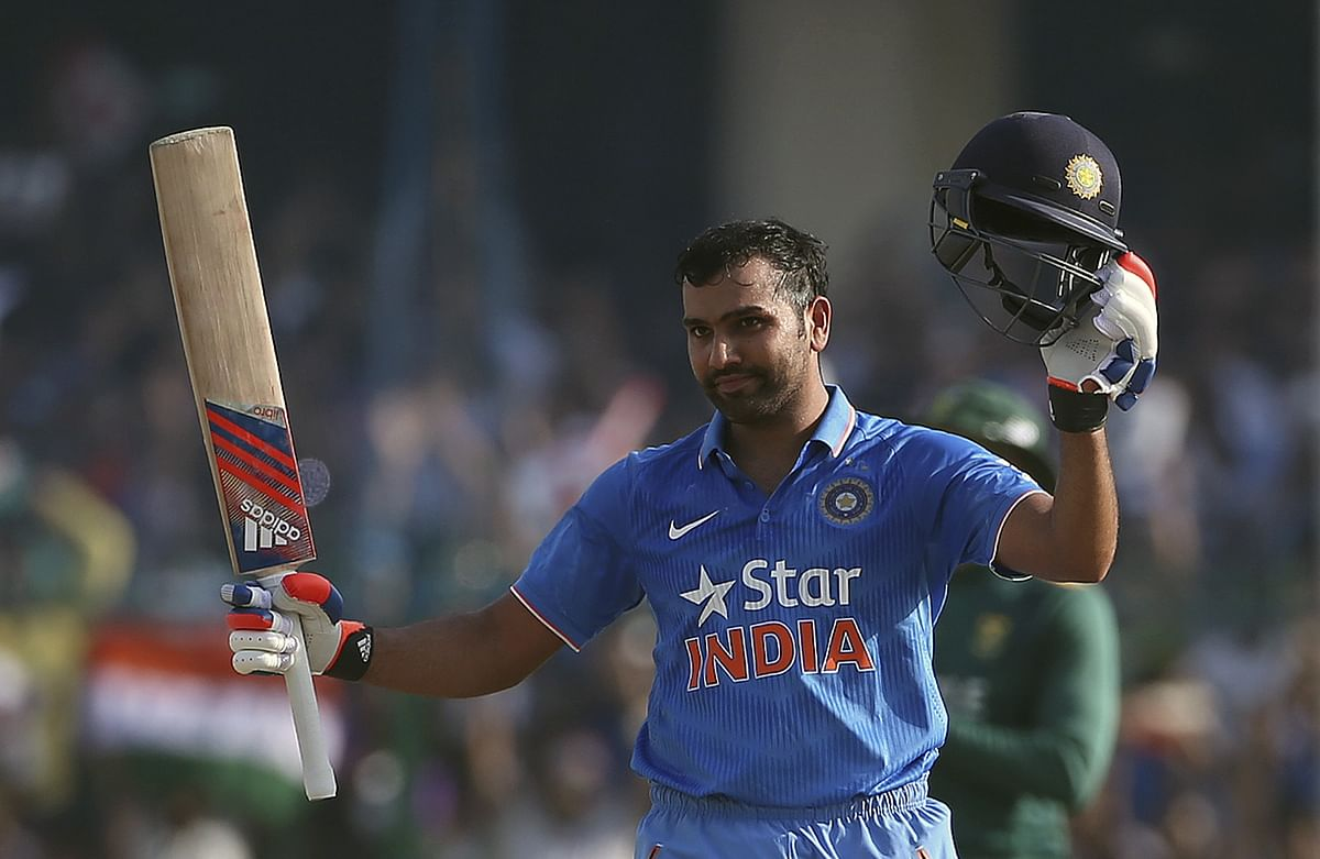 File photo of Rohit Sharma. (Photo: Reuters)