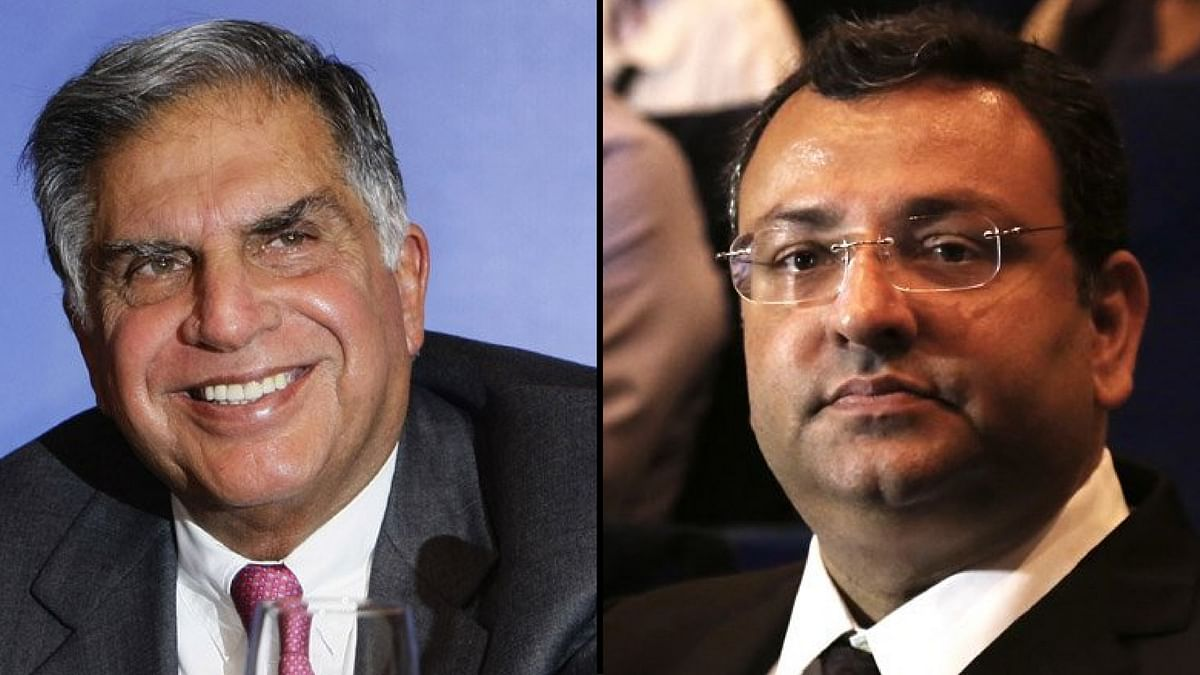 Ratan Tata and Cyrus Mistry. (Photo: <b>The Quint</b>)