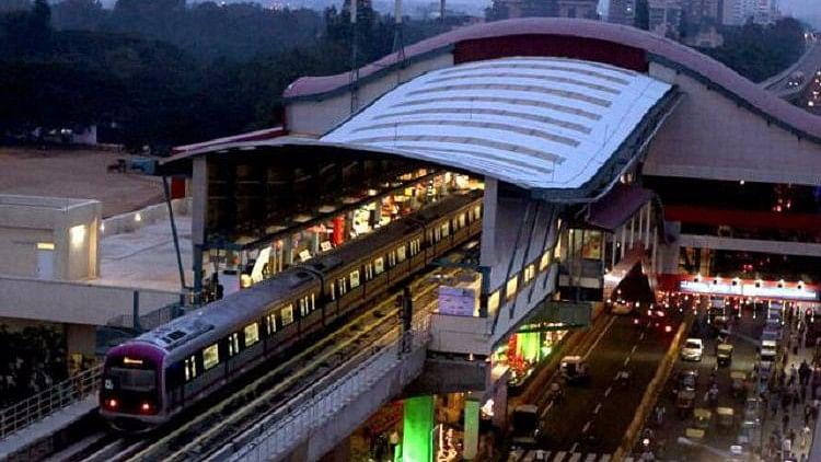 Bengaluru's Namma Metro.