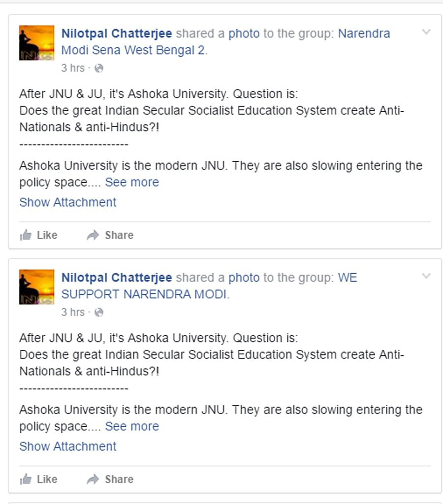 How the letter came to be published and shared on various forums. (Photo: Excerpts from Facebook)