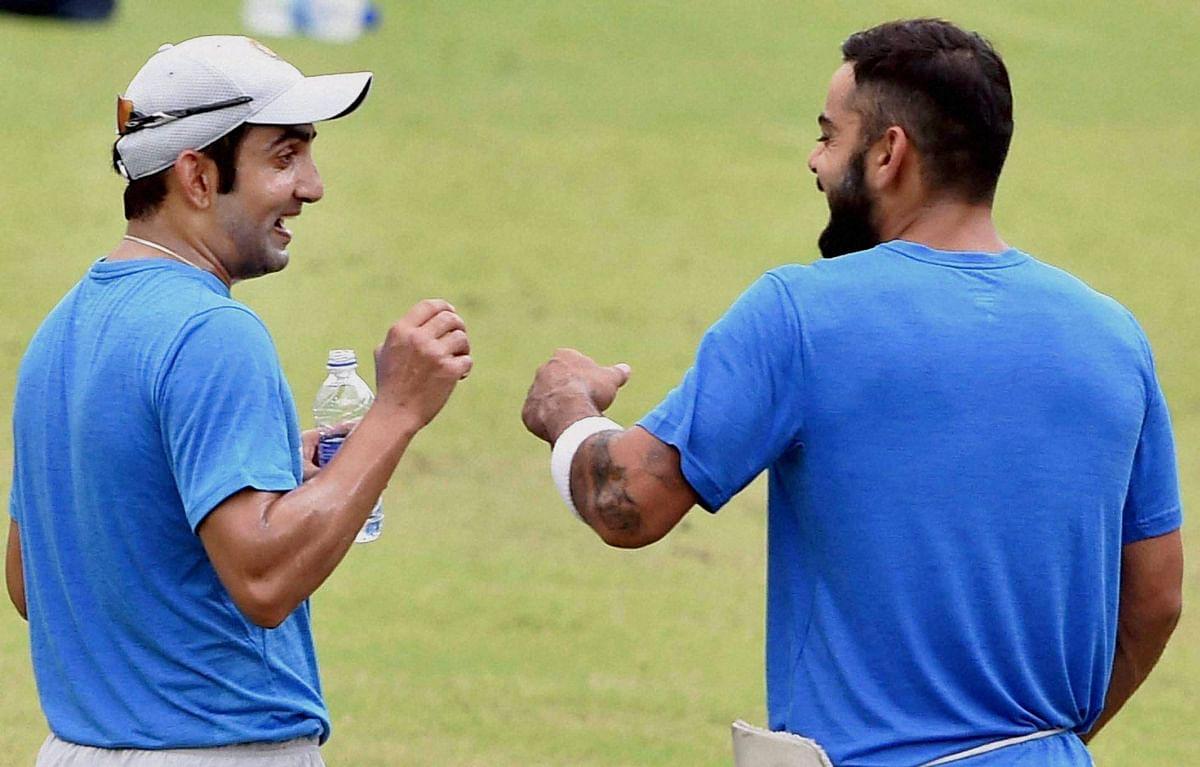 Gautam Gambhir joined the team in Kolkata. (Photo: PTI)