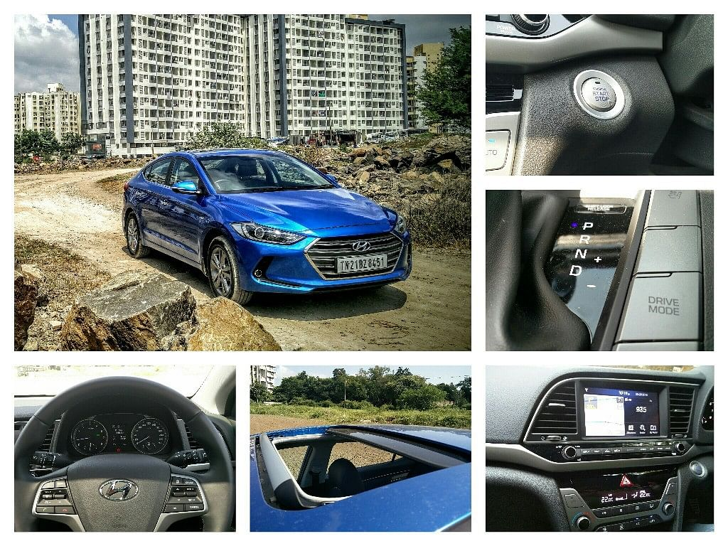 The Hyundai Elantra 2016 is feature-packed. (Photo Courtesy: Motorscribes)