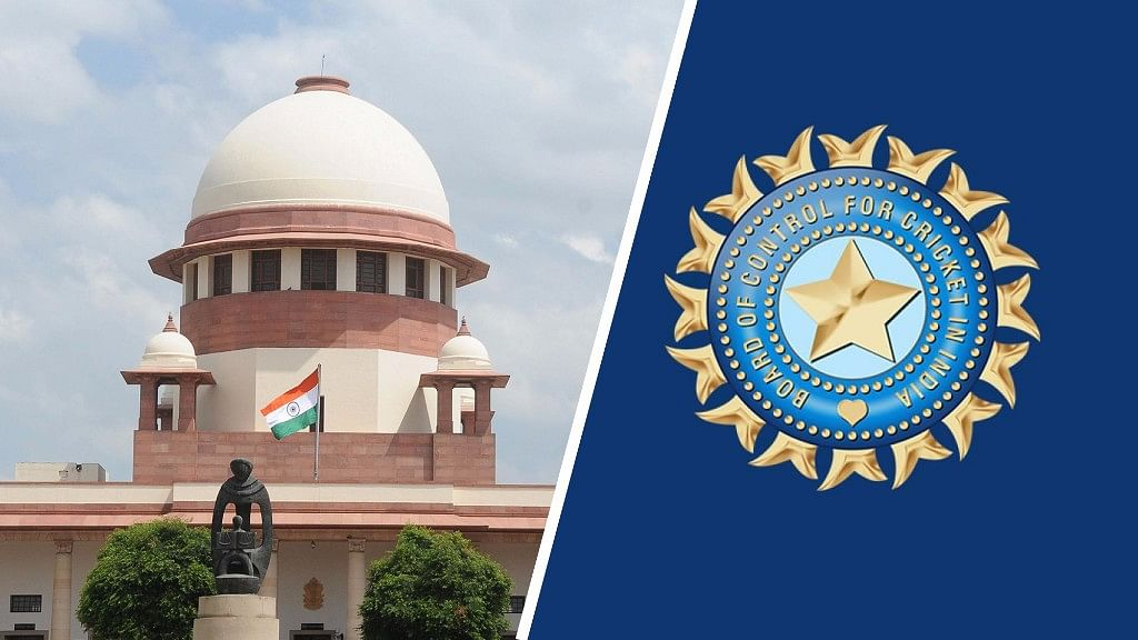 Supreme Court hearing on the Lodha panel recommendations to be held on Thurday. (Photo Altered by <b>The Quint</b>)