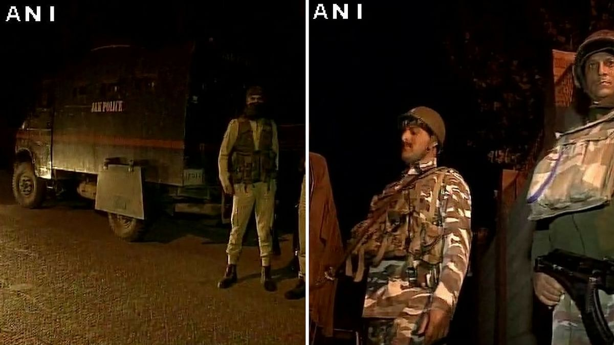 The encounter came to an end after firing went on for 30 minutes. (Photo: ANI)