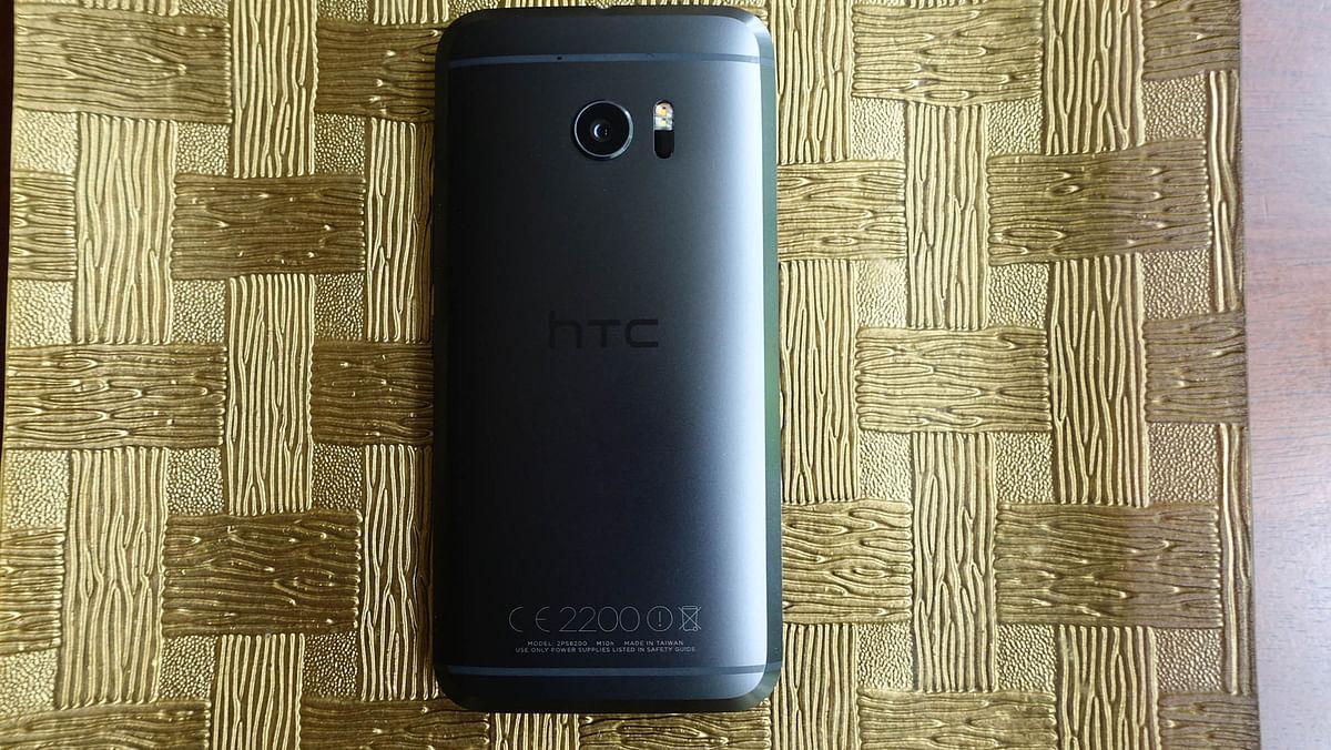 HTC 10. (Photo: <b>The Quint</b>)