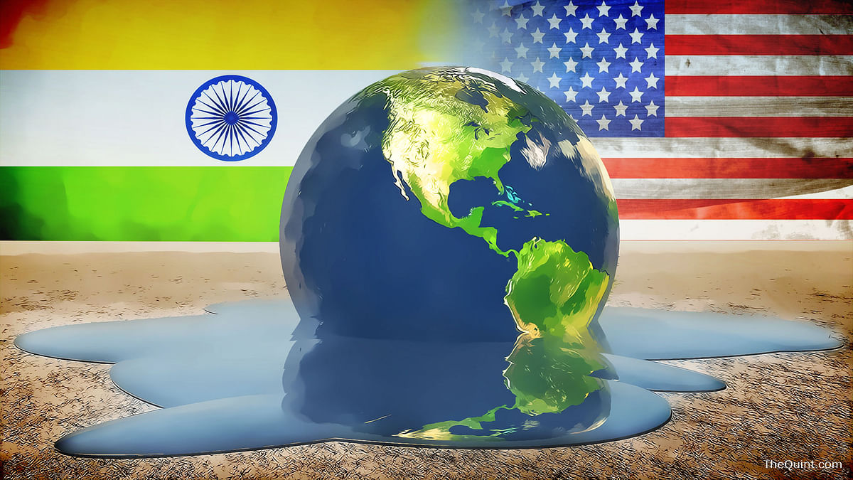 Has India's right to development been sacrificed at the altar of the Paris Climate Deal? (Photo: iStock/ Altered by <b>The Quint</b>)
