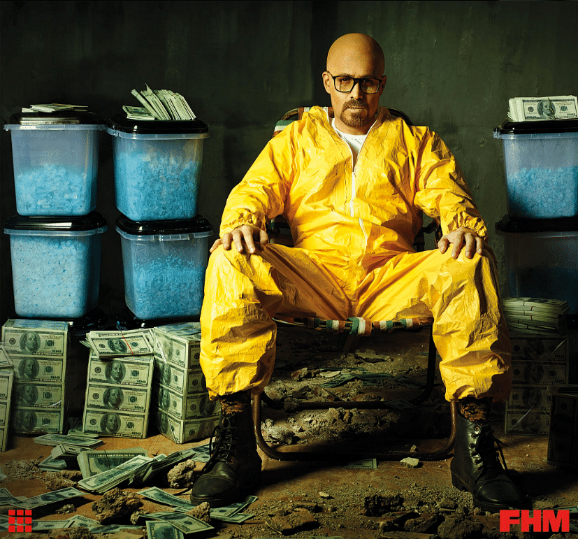 Emraan as Heisenberg. (Photo courtesy: Twitter)
