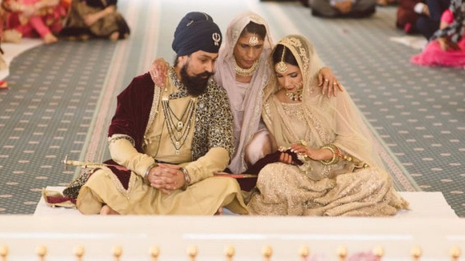 """Harnoor Grewal's wedding rituals were carried out by her mother. (Photo Courtesy: <a href=""""https://www.facebook.com/gurvirjohalphotography/"""">Gurvir Johal Photography</a>)"""