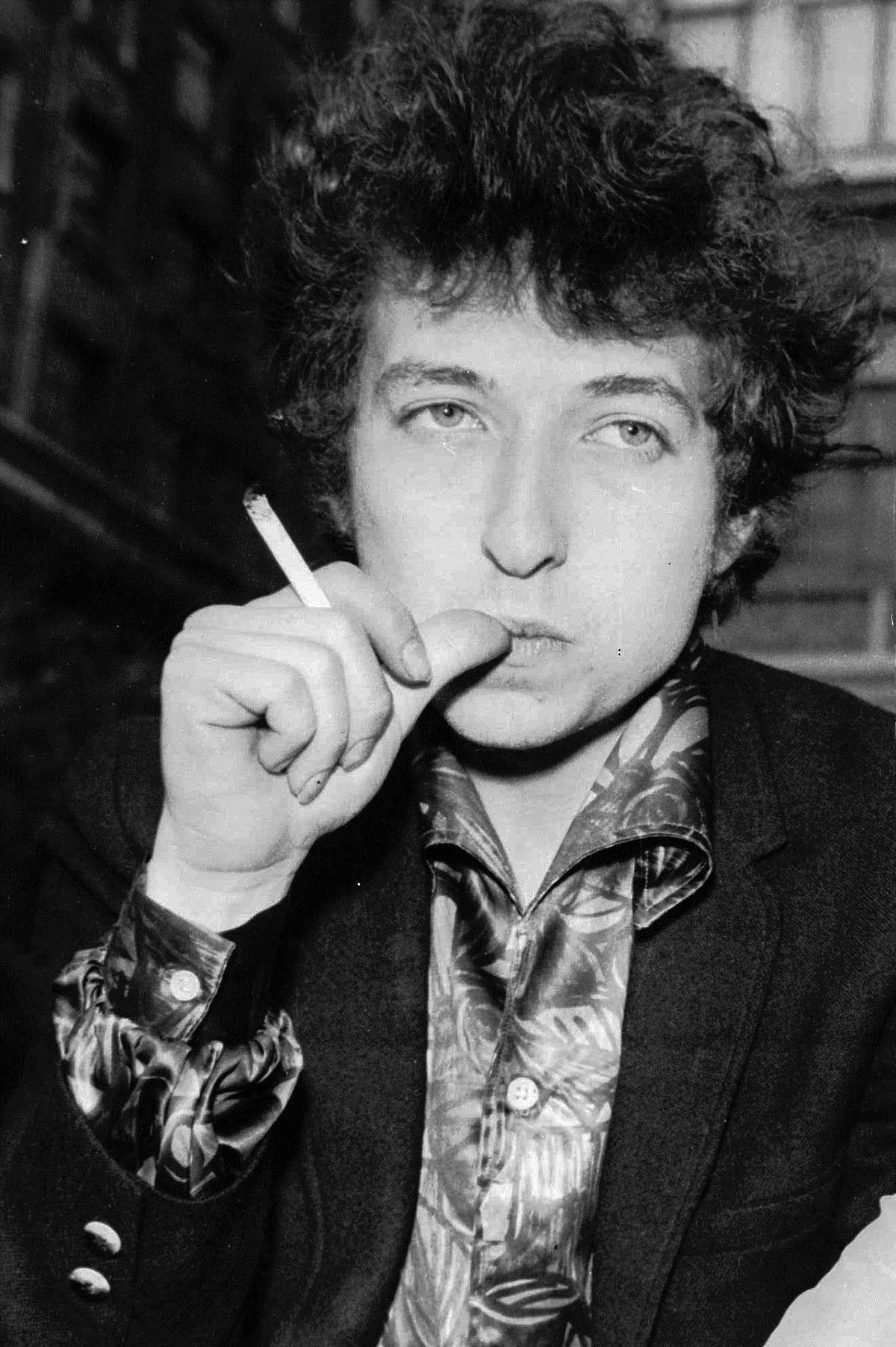 Bob Dylan in London, 1965. (Photo: AP)