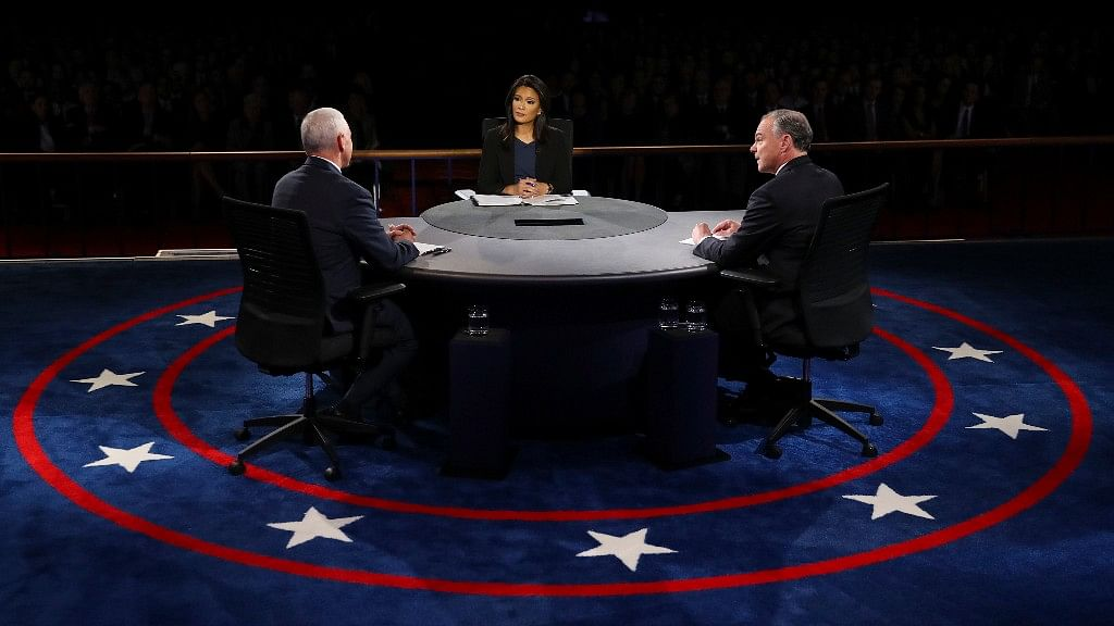 Virginia Senator Tim Kaine repeatedly challenged Mike Pence during Tuesday's vice presidential debate. (Photo: AP)