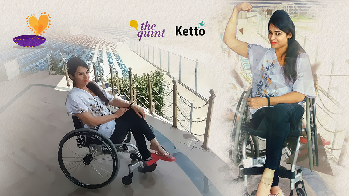 This Diwali, let's spread the light in Shweta Sharma's life. (Photo: <b>The Quint</b>)