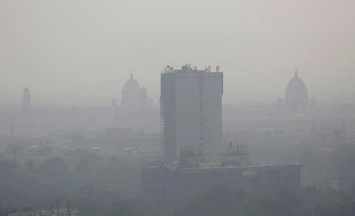 File photo of pollution in New Delhi, after Diwali. (AP Photo/Altaf Qadri)