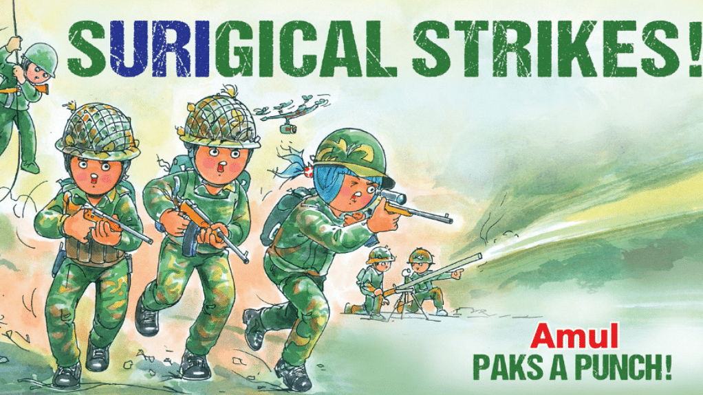 """Our popular culture references careless reek of violence and how much we have normalised it. (Photo Courtesy: Twitter/<a href=""""https://twitter.com/Amul_Coop/status/781809783657549825"""">@Amul_Coop</a>)"""