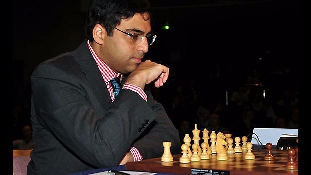 Five-time World Champion Viswanathan Anand stunned World No 1 Magnus Carlsen.
