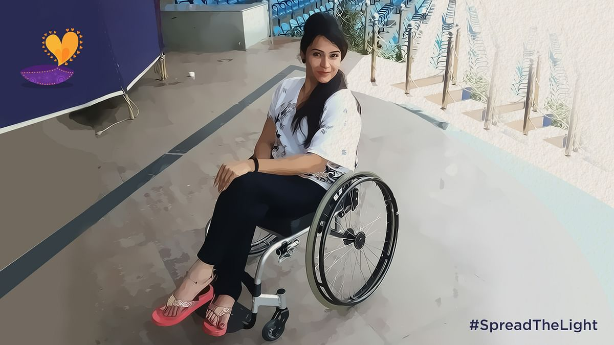 Let's #SpreadTheLight in Shweta Sharma's life. (Photo: <b>TheQuint</b>)