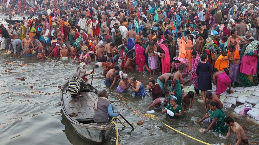 Devotees throng the river due to religious reasons. Image used for representational purpose. (Photo: iStock)