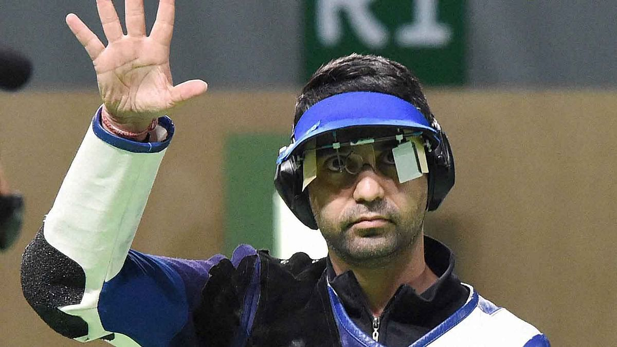 Abhinav Bindra finished fourth at the Rio Olympics, missing a medal in his final Games.(Photo: AP)