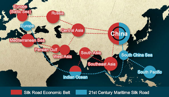 CPEC is a part of China's efforts to revamp its trade route. (Photo Courtesy: thethirdpole.net)