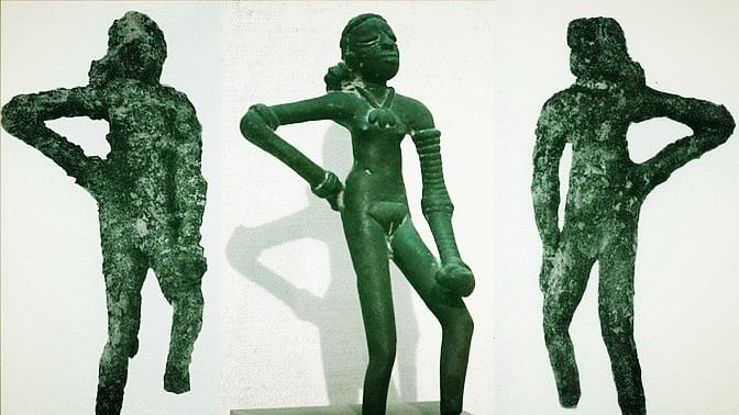 """Does the 'Dancing Girl' belong to India, Pakistan, or both? (Photo Courtesy: Facebook/<a href=""""https://www.facebook.com/AncientIndus/"""">@AncientIndus</a>)"""