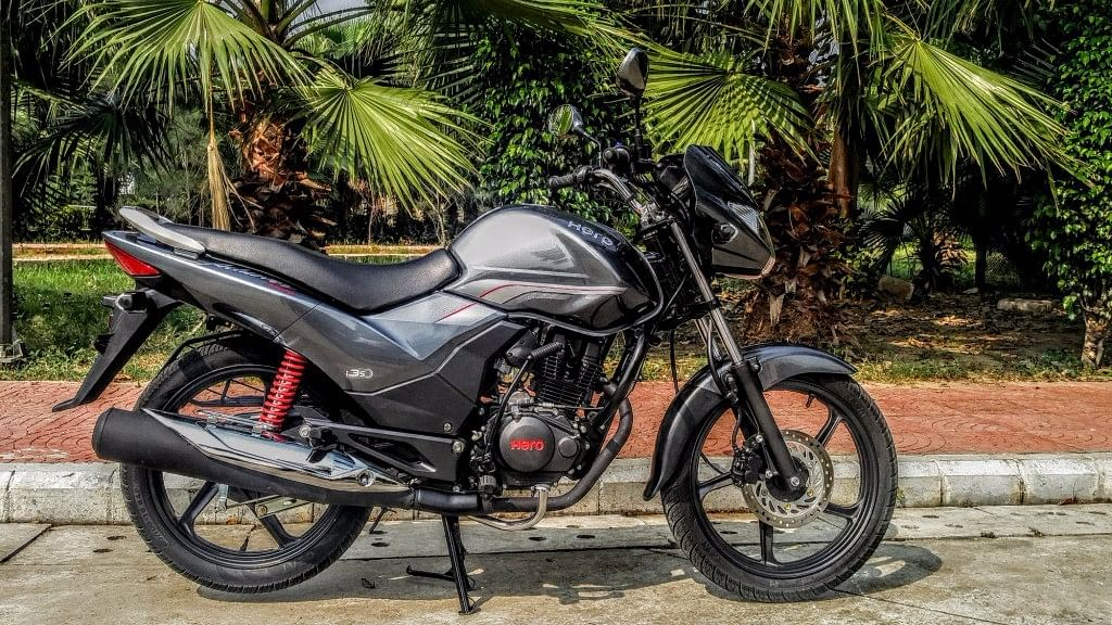 """The Hero Achiever 150. (Photo Courtesy: <a href=""""https://www.motorscribes.com/Articles/hero-motocorp-achiever-150-first-ride-bike-review"""">Motorscribes</a>)"""