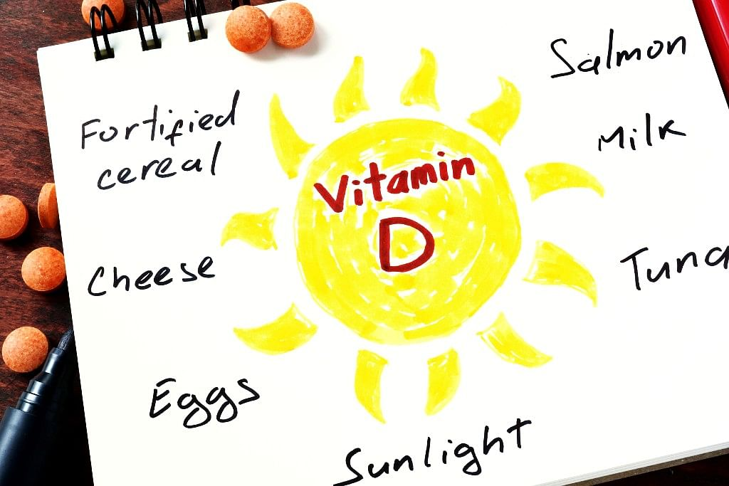 Most adults need just 600 international units of Vitamin D everyday. There are at least 200 units per 100 grams of salmon and 128 units in a boiled egg,14 units in one cube of cheddar cheese. (Photo: iStock)