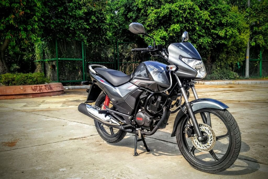 The Hero Achiever 150 from the front. (Photo Courtesy: Motorscribes)