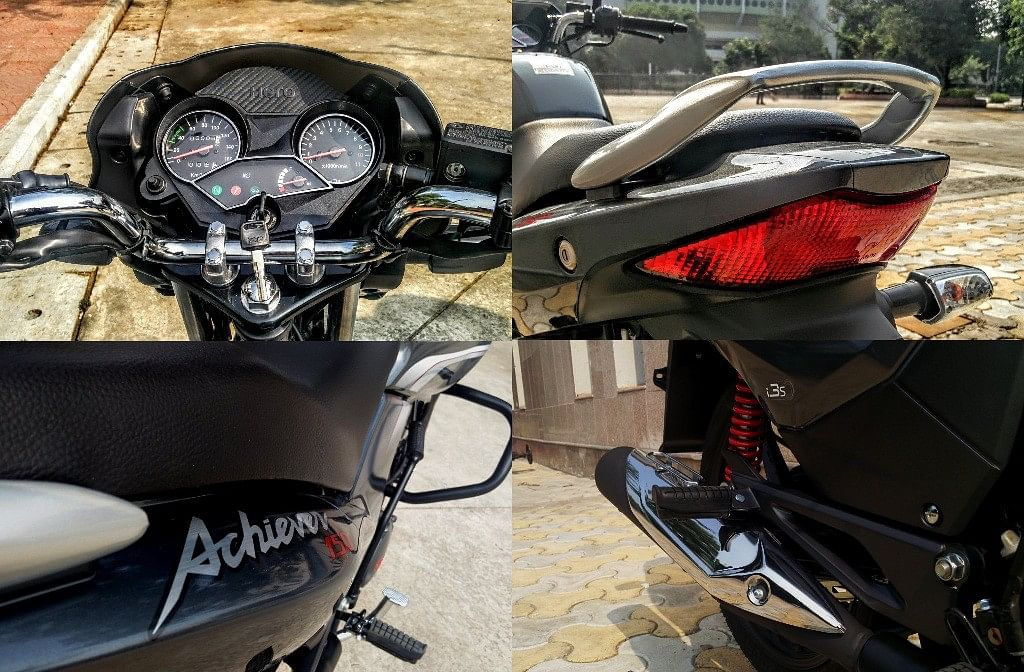 The made-in-India Achiever 150. (Photo Courtesy: Motorscribes)