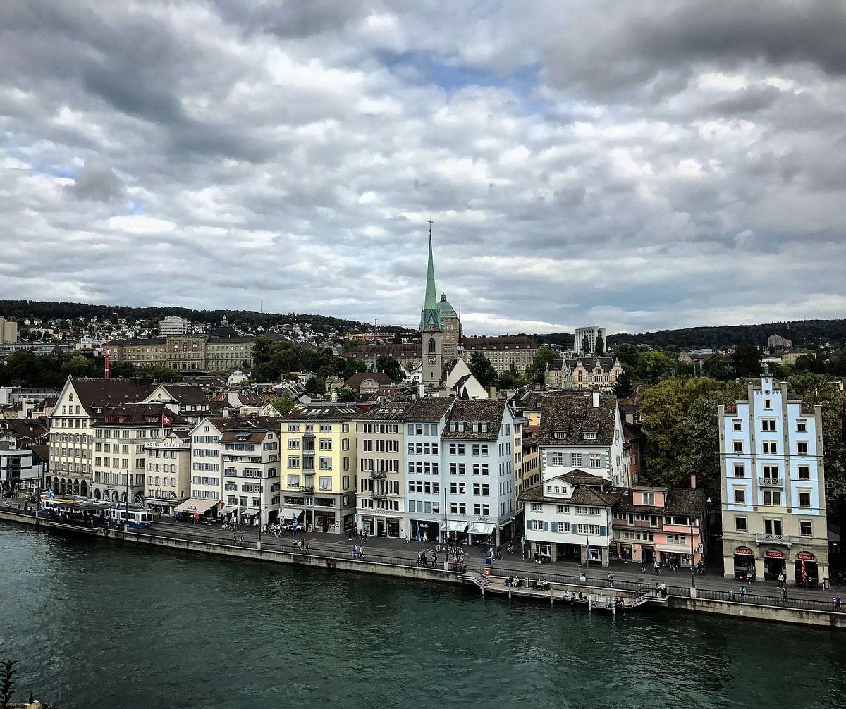 Zurich's Old Town. (Photo Courtesy: Ashwin Rajagopalan)