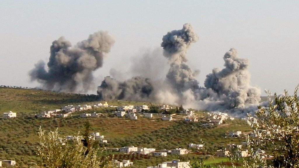 Turkish jets carried out 26 airstrikes on 18 Syrian Kurdish YPG militant targets in northern Syria on Wednesday. (File Photo: Reuters)