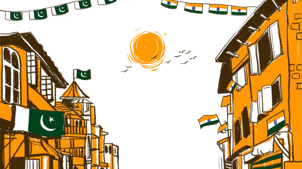 The story of how Jammu and Kashmir came to be part of the Indian dominion. (Illustrations: Susnata Paul)