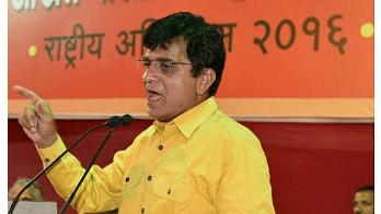 Former MP Kirit Somaiya Detained, BJP Slams Maharashtra Government