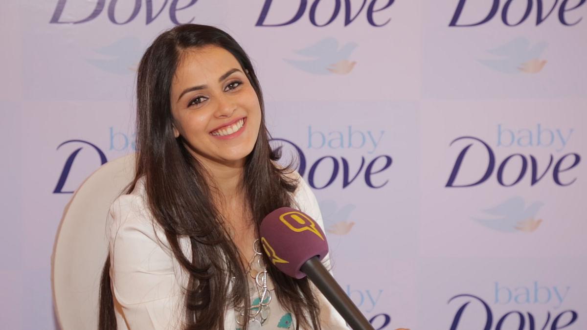 File image of actor Genelia D'Souza.