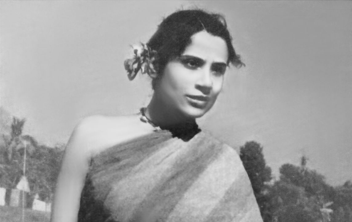 Legendary Bengali thespian Tripti Mitra in <i>Jago Hua Savera</i>. (Photo: Screengrab from the film)