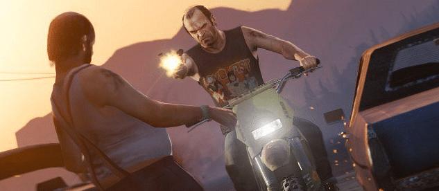 "A scene from Grand Theft Auto. (Photo Courtesy: Twitter/<a href=""https://twitter.com/CorporatesWorld/status/718814875368222720"">@Corporatesworld</a>)"